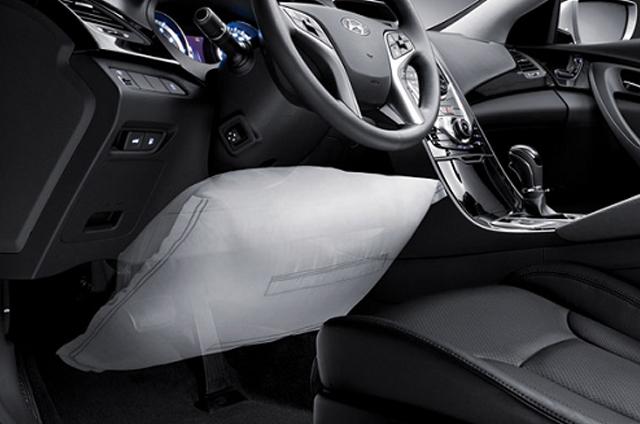 Ремонт подушки безпеки колін